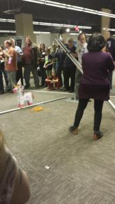 Jane Yolen vs. the Unicorn piñata