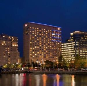 Night photo Renaissanze hotel boston
