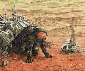 Jon_Hunt-OnMars-Cover-Detail