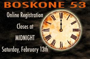 Online Registration Closes